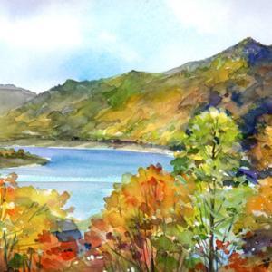 10月29日の水彩画