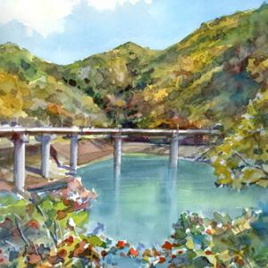 10月23日の水彩画
