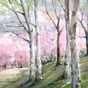 4月2日の水彩画