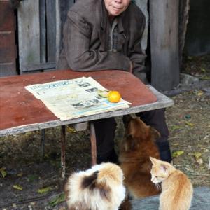チェルノブイリで暮らす農家を訪問 - チェルノブイリツアー
