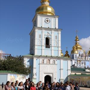 キエフ弾丸観光 前半 - キエフ観光最短ルートとは