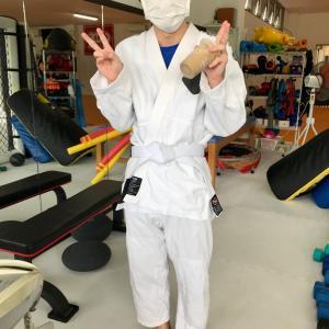 ベースコース林田さんは格闘家!