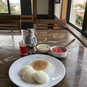 GRAND HOTEL ■ シンガポール&南インド遠征編 [33] 海老スキー活動とケーララ朝食