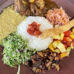 西のクルバドゥ、東のニルカレー ■ nilu curry(立山町)■ シーギリヤロックプレート他