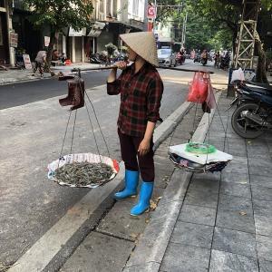バインクオン / ハノイ ■ ベトナム遠征2019編 [02] タンロン水上人形劇場で伝統芸能!