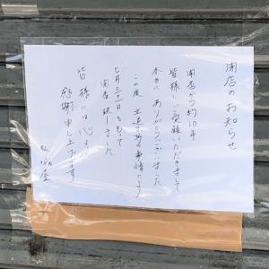 弘城屋 閉店