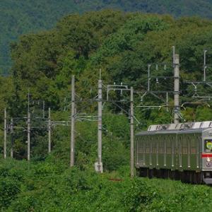 東京では絶対目にしない風景・・養老鉄道の元東急車