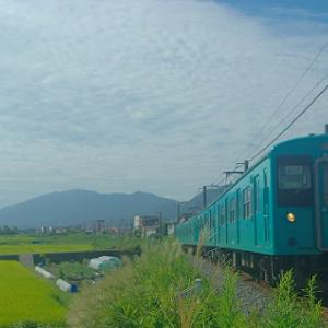 和歌山線の105系を写しに行く・・・今回は2枚