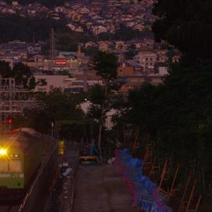 いい瞬間に撮れました・・・奈良線