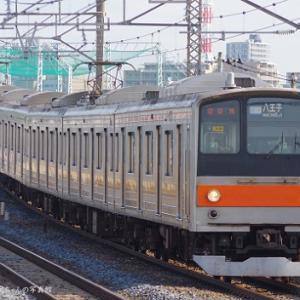 武蔵野線の205系が引退したみたいで・・・