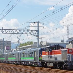 JR北海道H100形の甲種が行われる。