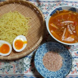 トマトつけ麺(๑´ڡ`๑)