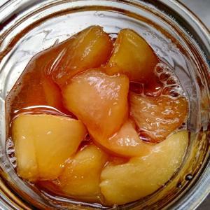 桃のコンフィチュール