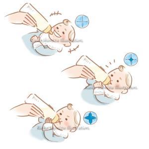 ゼクシィBaby--赤ちゃんイラスト