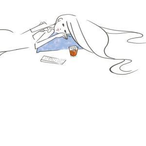 飲みたい夜--オリジナルイラスト