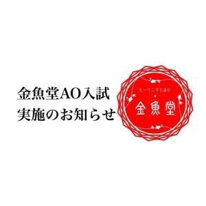 【金魚堂AO入試のご案内】