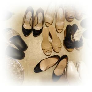 *お靴の衣替え***