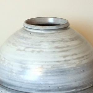 金京德 粉引の壺