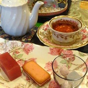 紅茶とお砂糖の関係♪
