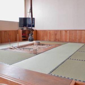 今年も1週間を切りました 囲炉裏端の畳を新調しましたよ