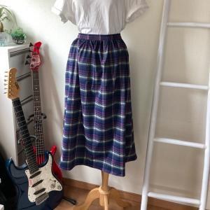 何の変哲もないギャザースカート制作