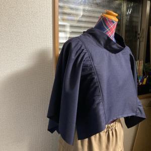 ぷわっと袖のワンピース制作 その2
