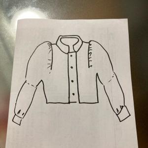 ぷわっと袖トップス対応のジャケット制作