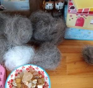抜け毛の季節に玉作りはいかがですか?(笑)