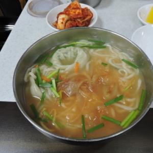 2019年   夏  韓国・食の旅 vol.5 7月30日 0:00頃 ミョンドンカルククス