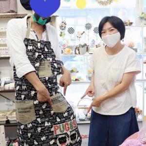 黒パグちゃんのエプロン、完成!!