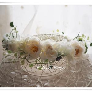 花笑みオリジナル花冠&リストレット 認定スクールになりました