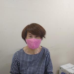 手作りマスク②