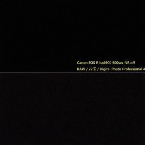 Canon EOS R / EOS 6D テスト