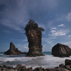 月光の三王岩