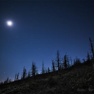 蔵王 月光写真