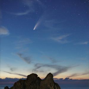 ネオワイズ彗星 (C/2020F3) 7月19日 山形県 Vol.1