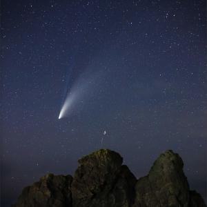 ネオワイズ彗星 (C/2020F3) 7月19日 山形県 Vol.2