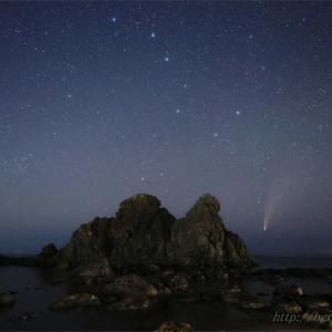 ネオワイズ彗星 (C/2020F3) 7月19日 山形県 Vol.3