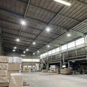 LED照明導入速報!『株式会社イワクラ ホモゲン化工場(第2工場)』様(苫小牧市)