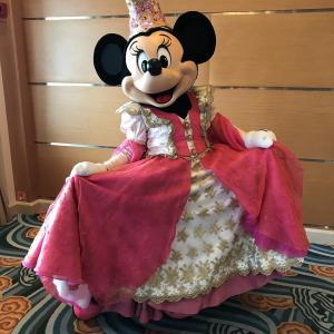 【26】プリンセスミニーとバンピリーナのグリーティング