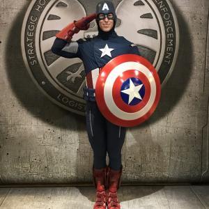 【54】Captain America(キャプテンアメリカ)/ マーベルグリーティング
