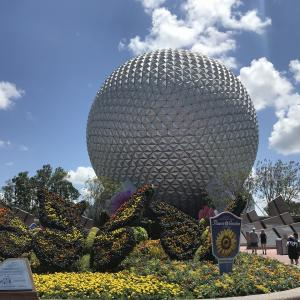 【9】Epcot International Flower & Garden Festival①