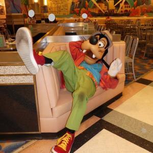 【37】2度目なグーフィー/Minnie's Springtime Dine
