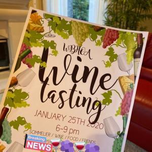 """HOA"" Homeowner Asociationのワインパーティー"