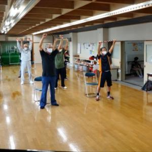 楽しんでいます♪男だけのシャッキリ体操!旭川市北部老人福祉センター(旭川市春光)