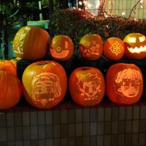 今年もすごい!北門町のハロウィーンかぼちゃ!北の散歩道(旭川市北門町)