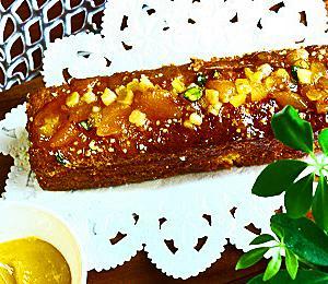 レモンカード・ケーキ、爽やかな春の味覚
