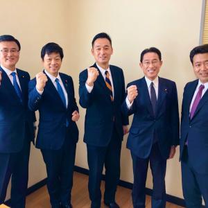 静岡4区 深澤陽一さんの事務所開き。