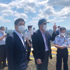 東京オリンピック開会!ブルーインパルスの展示飛行