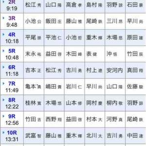 11/19 芦屋モーニング予想